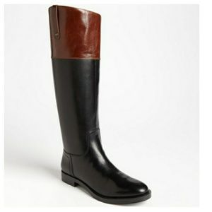 Enzo Angiolini   Eaellerby 2 tone leather boots